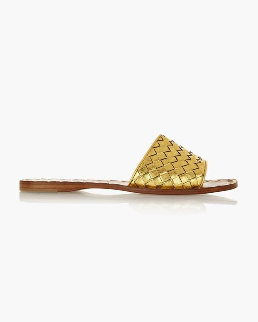 Picture of Textured-leather Flats