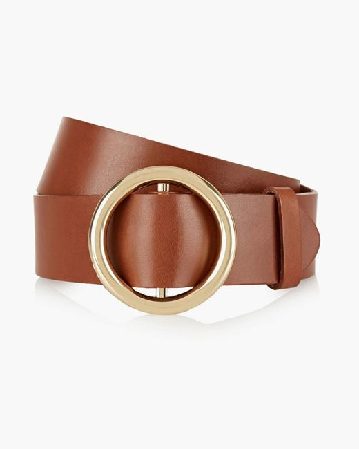 Picture of Embellished Leather Waist Belt